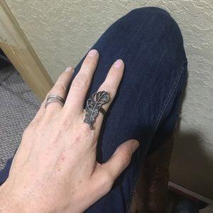 👛10 for $10 Adjustable ring. Boho tribal